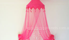 Hot Pink Princess Mosquito Net