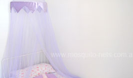 Purple Princess Mosquito Net Bed Canopy