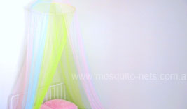Rainbow Mosquito Net Bed Canopy