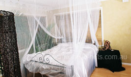 King Size White Box Mosquito Net