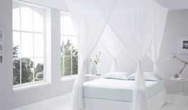 Luxurious Cotton Mosquito Net Box King Size