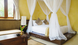 Luxurious Queen Cotton Box Mosquito Net