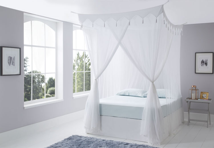 Decorative Box Cotton Mosquito Net King Size