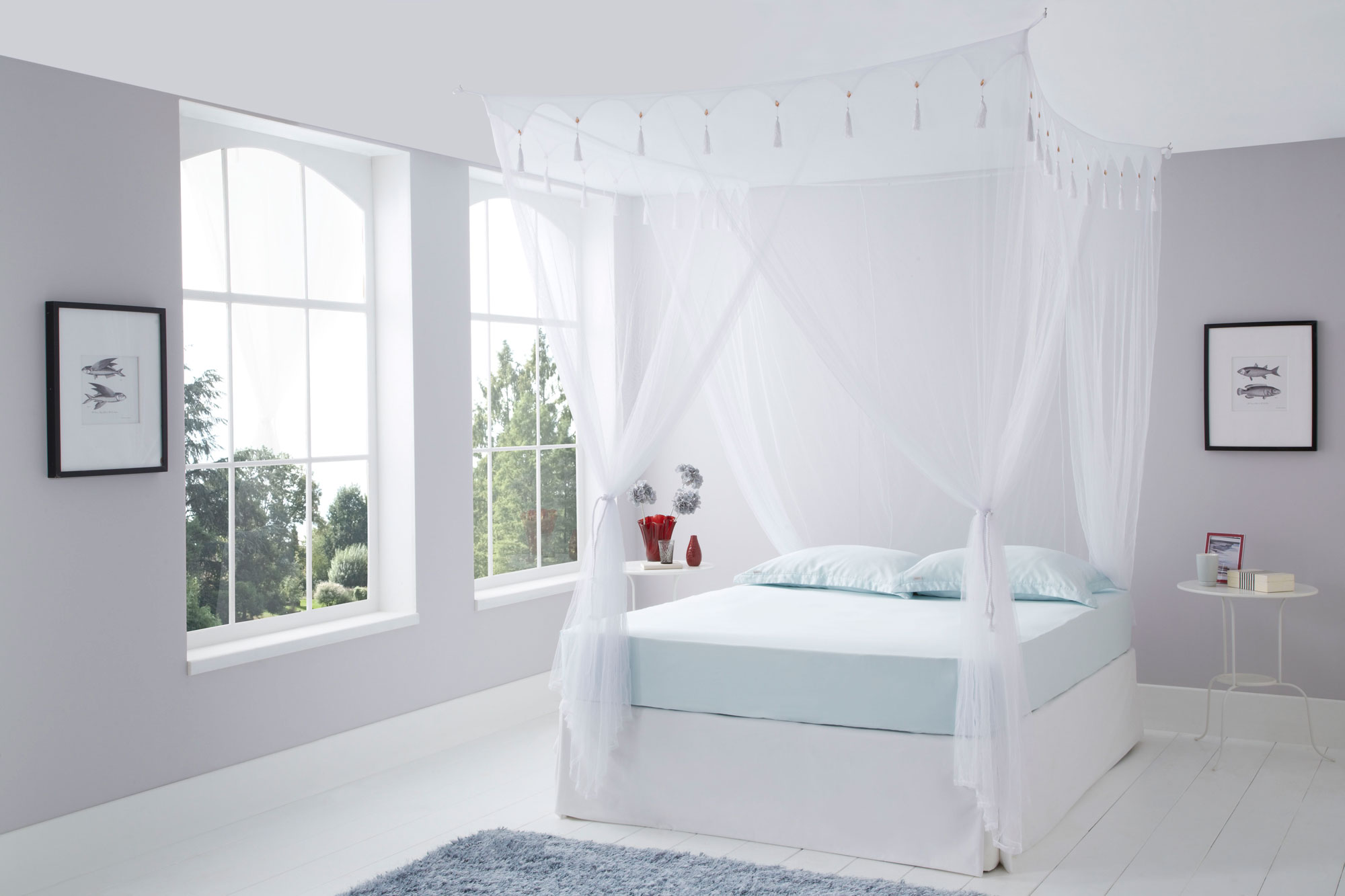 Queen Size Box White Mosquito Net Mosquito Nets Online