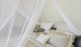 Luxurious Double Cotton Box Mosquito Net