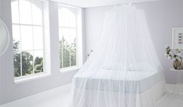 Resort Style Cotton Mosquito Nets