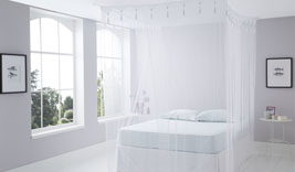 Double Size White Box Mosquito Net